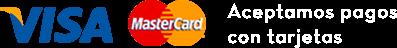 Aceptamos pagos con tarjetas y efectivo